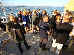 Cocktail party, Cowes Week 2013